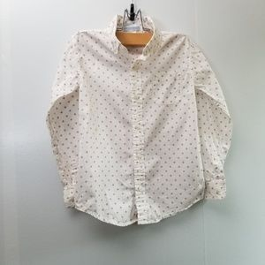 Janie and jack 6 boys button up shirt
